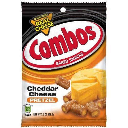 Combos Combos Cheddar  Cheese Pretzel 178,6 Gram