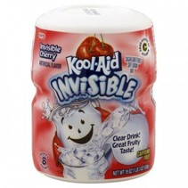 Kool Aid 8QT Invisible Cherry 538 Gram