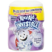 Kool Aid 8QT Invisible Grape 538 Gram