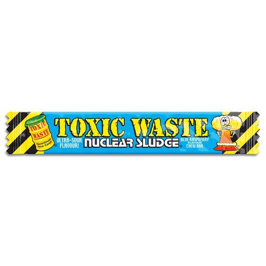 Toxic Waste Toxic Waste Nuclear Sludge Chew Bar Blue Raspberry 20 Gram