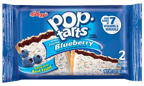 Pop-Tarts Kellogg's Pop-Tarts Blueberry 104 Gram (2-pack)