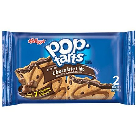 Pop-Tarts Kellogg's Pop-Tarts Choc Chip (2-pack)