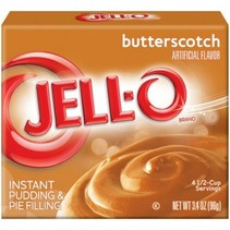 Jell-O - Butterscotch Instant Pudding 96 Gram