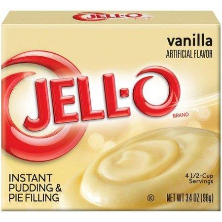 Jell-O Jell-O - Vanilla Instant Mix 96 Gram