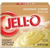 Jell-O - Coconut Cream Pudding Instant Mix 96 Gram