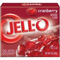 Jell-O - Cranberry Gelatin 85 Gram