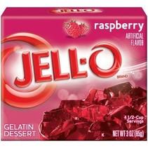 Jell-O - Raspberry Gelatin 85 Gram