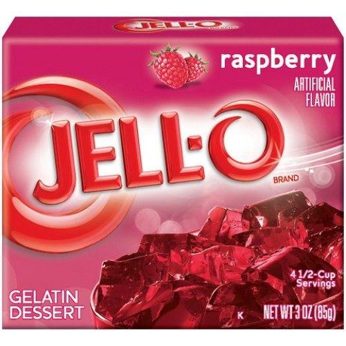 Jell-O Jell-O - Raspberry Gelatin 85 Gram