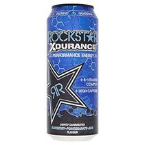 Rockstar Xdurance Blueberry 500ml 12 Stuks