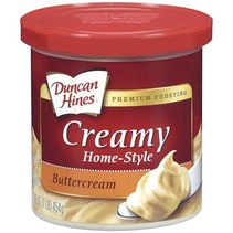Duncan Hines - Butter Cream Frosting 454 Gram