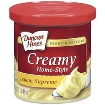 Duncan Hines - Lemon Supreme Frosting 454 Gram