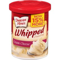 Duncan Hines - Whipped Cream Cheese Frosting 397 Gram