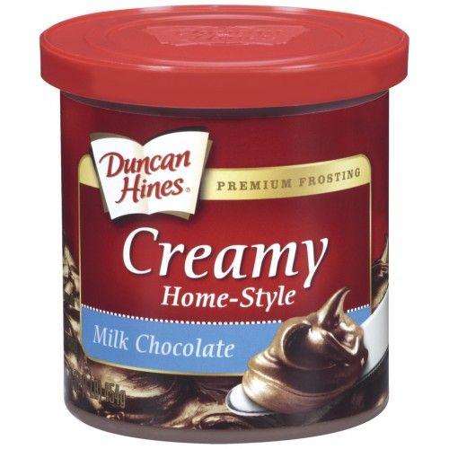 Duncan Hines Duncan Hines - Milk Chocolate Frosting 453 Gram