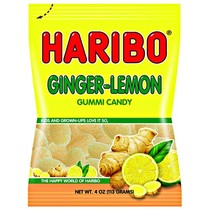 Haribo Ginger-Lemon Peg Bag 113 Gram