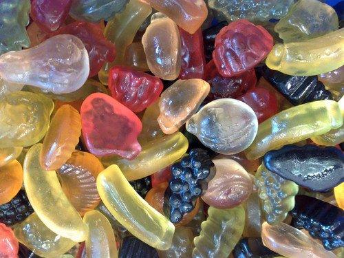 De Bron De Bron - Winegums Fruit Suikervrij 1 Kilo