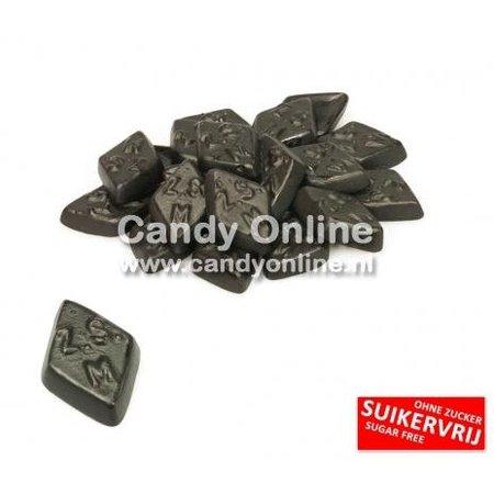 De Bron De Bron - Zoute Ruitjes Suikervrij 200 Gram