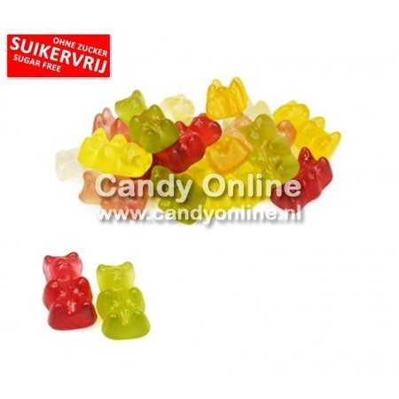 Astra Sweets Astra - Winegum Beertjes Stevia 200 Gram