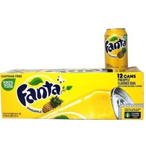 Fanta - Pineapple 355ml 12 Blikjes