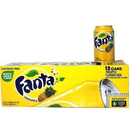Fanta Fanta - Pineapple 355ml 12 Blikjes