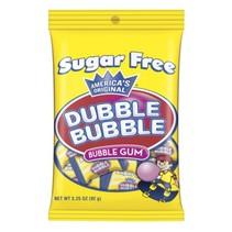 Dubble Bubble - Bubble Gum Suikervrij 92 Gram