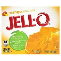 Jell-O - Mango Gelatin 85 Gram
