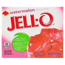 Jell-O - Watermelon Gelatin 85 Gram