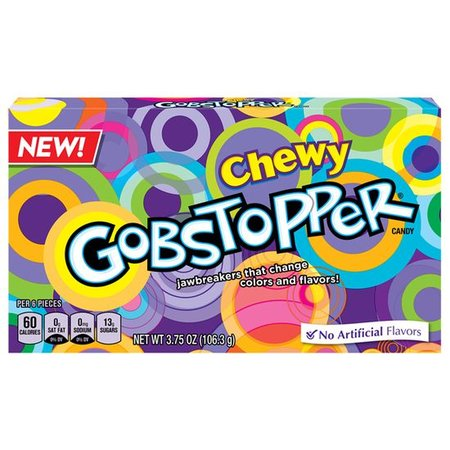 Wonka Wonka Gobstoppers Chewy Theatre Box 106 Gram