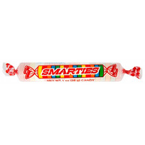 Giant Smarties Candy Rolls 28 Gram