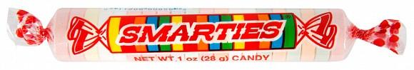 Overige Giant Smarties Candy Rolls 28 Gram