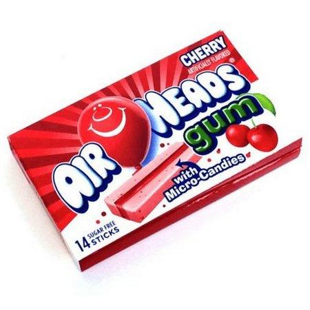 Airheads Airheads - Cherry Bubble Gum 34 Gram