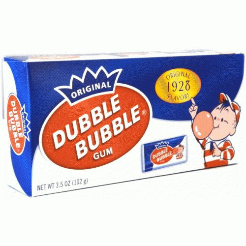 Dubble Bubble Dubble Bubble Nostalgic Theatre Box 102 Gram