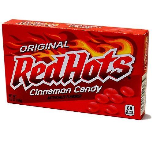 Red Hots Red Hots Videobox 156 Gram