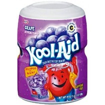 Kool Aid 8QT Grape 538 Gram