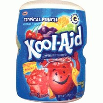 Kool Aid 8QT Tropical Punch 538 Gram