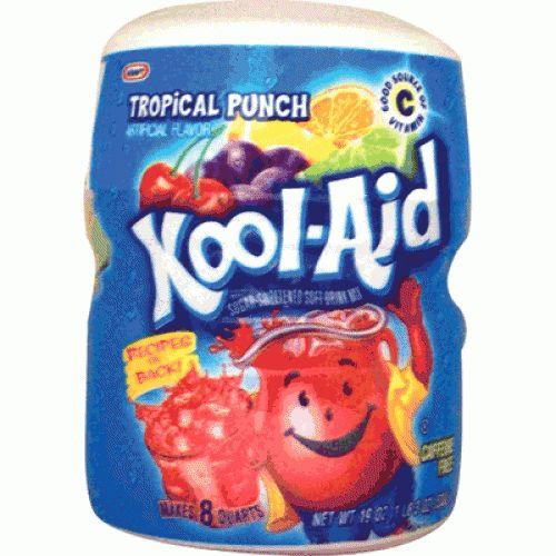 Kool Aid Kool Aid 8QT Tropical Punch 538 Gram