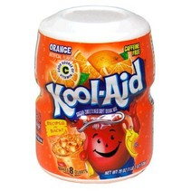 Kool Aid 8QT Orange 538 Gram