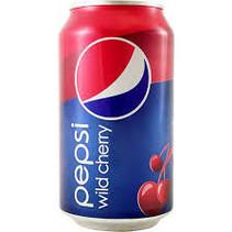 Pepsi Wild Cherry 355ml 12 Blikjes