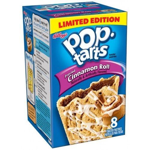 Pop-Tarts Kellogg's - Pop Tarts - Cinnamon Roll 399 Gram