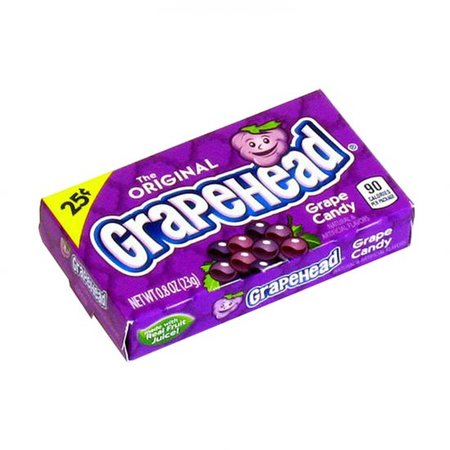 Ferrara Pan Ferrara Pan - GrapeHead Grape Candy 23 Gram