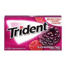 Trident Black Raspberry Twist Gum