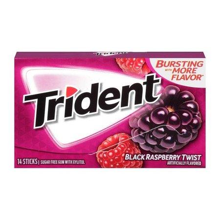 Trident Trident Black Raspberry Twist Gum