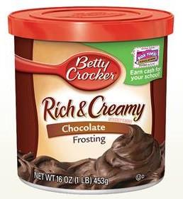Betty Crocker Betty Crocker - Chocolate Frosting 453 Gram