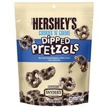 Hershey'sy/Snyders - Cookies 'n Creme Coated Pretzel 120 Gram