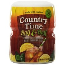 Country Time 8QT Half & Half Lemonade Tea Mix 538 Gram
