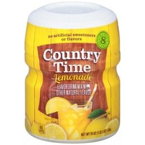 Country Time 8QT Lemonade Mix 538 Gram