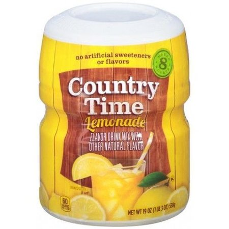 Country Time Country Time 8QT Lemonade Mix 538 Gram  ***THT 22-04-2020***