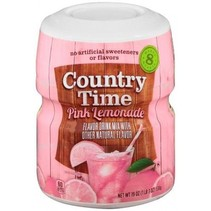 Country Time 8QT Pink Lemonade Mix 538 Gram