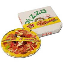 Look O Look - Snoep Pizza 435 Gram