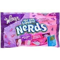 Wonka - Strawberry & Grape Nerds Minis 340 Gram