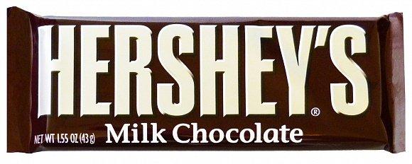 Hersheys Hershey's Milk Chocolate Bar 43 Gram